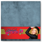 Merchandise table display for music artist, Michala Todd (retractable banners and table banner).