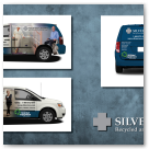 Vehicle sign design for SILVER CROSS (United States version)